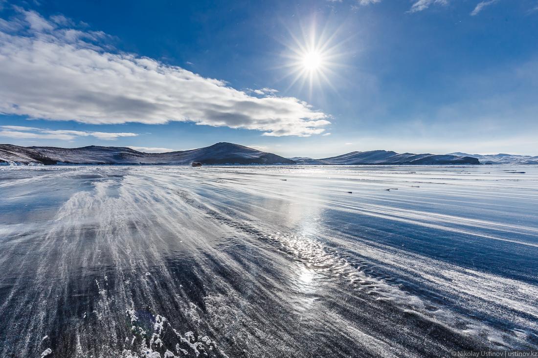 Гуляя над бездной. По льду зимнего Байкала с фотоаппаратом