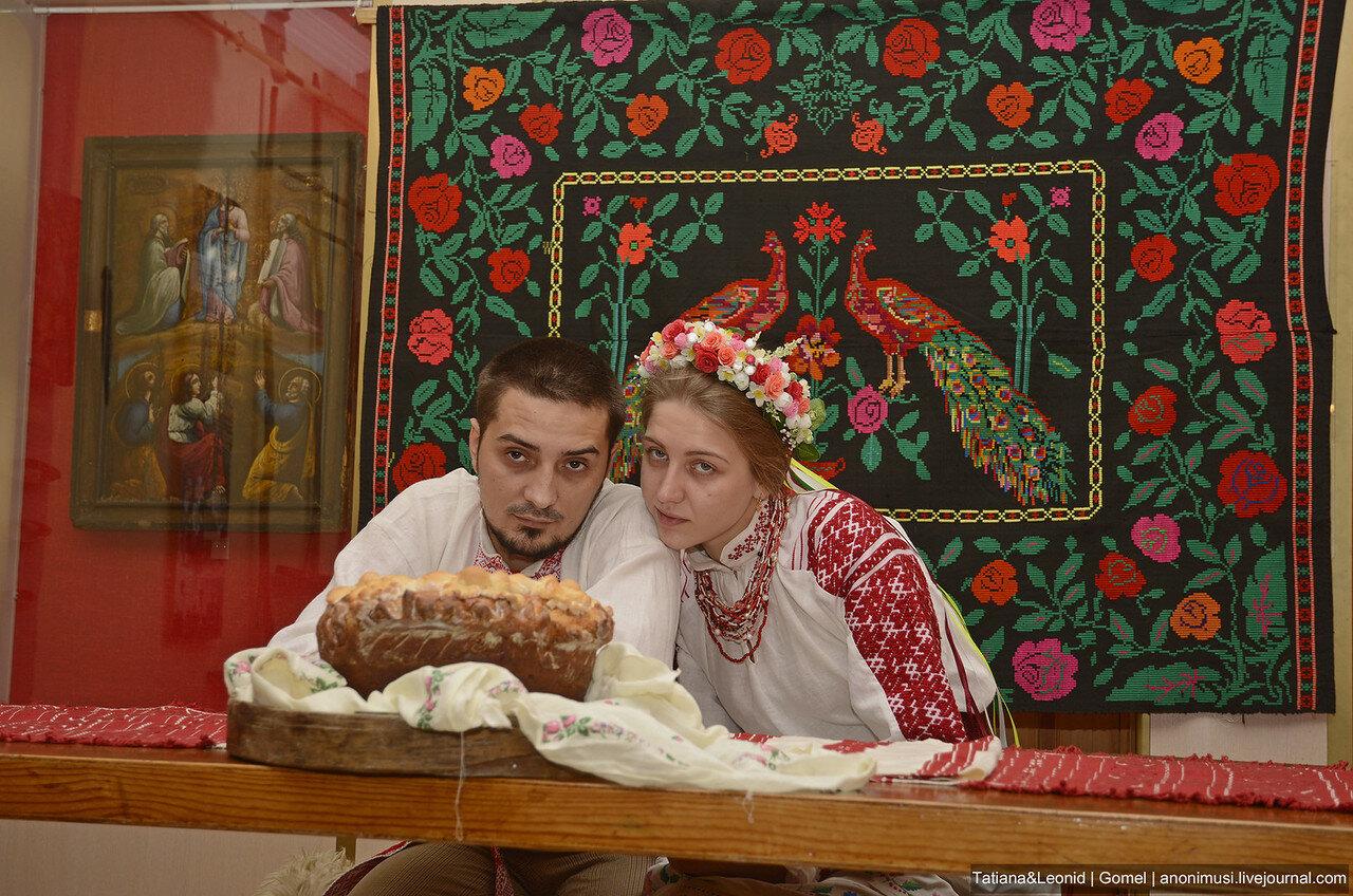 Обряд свадьбы на Полесье. Гомель