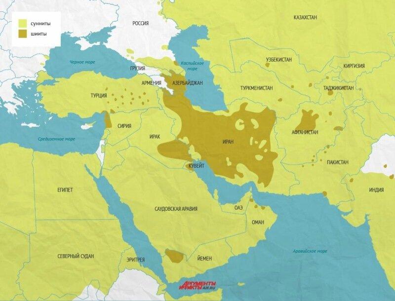 Почему мусульмане делятся на шиитов и суннитов   в чём их различие