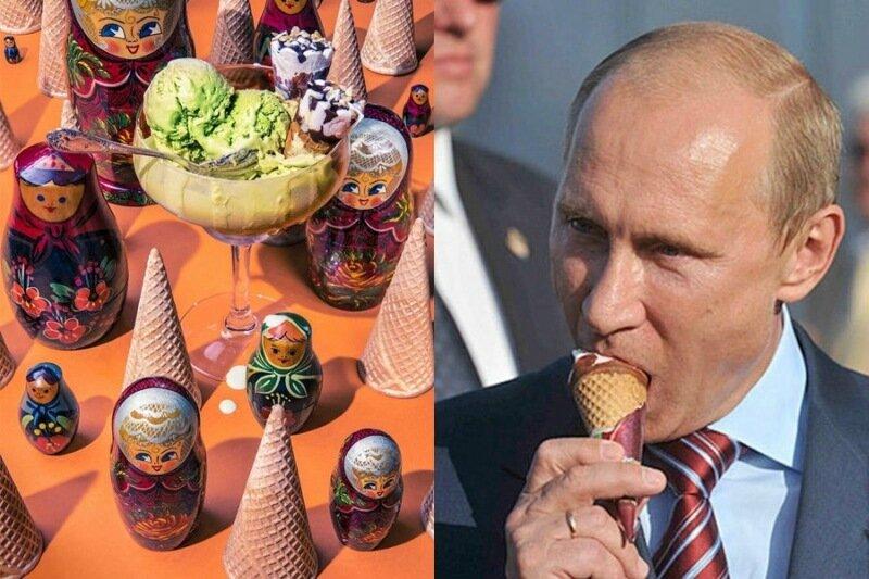 Любимая еда Дональда Трампа, Владимира Путина и других политиков в проекте Дэна Баннино