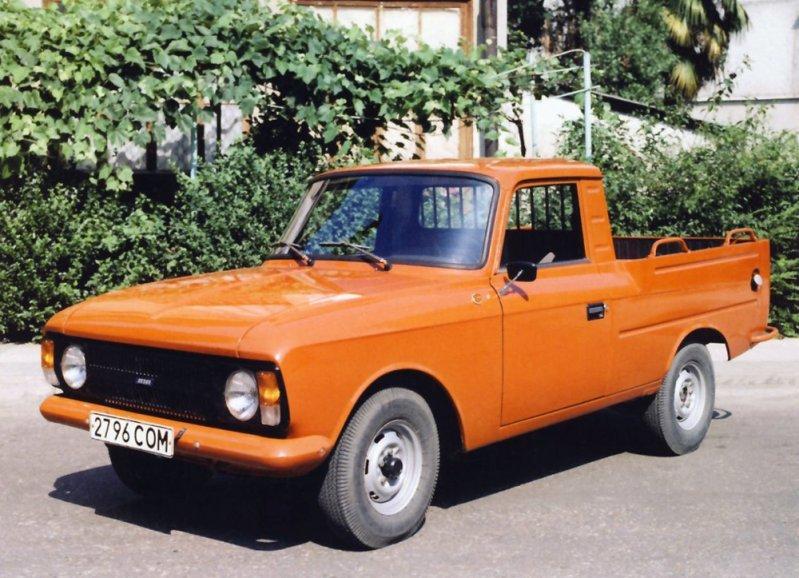 Легендарный грузопассажирский автомобиль, единственный советский серийный пикап, производившийся