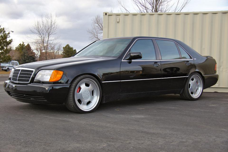 Mercedes-Benz W140 S74 by RENNtech – привет из 90-х (10 фото)