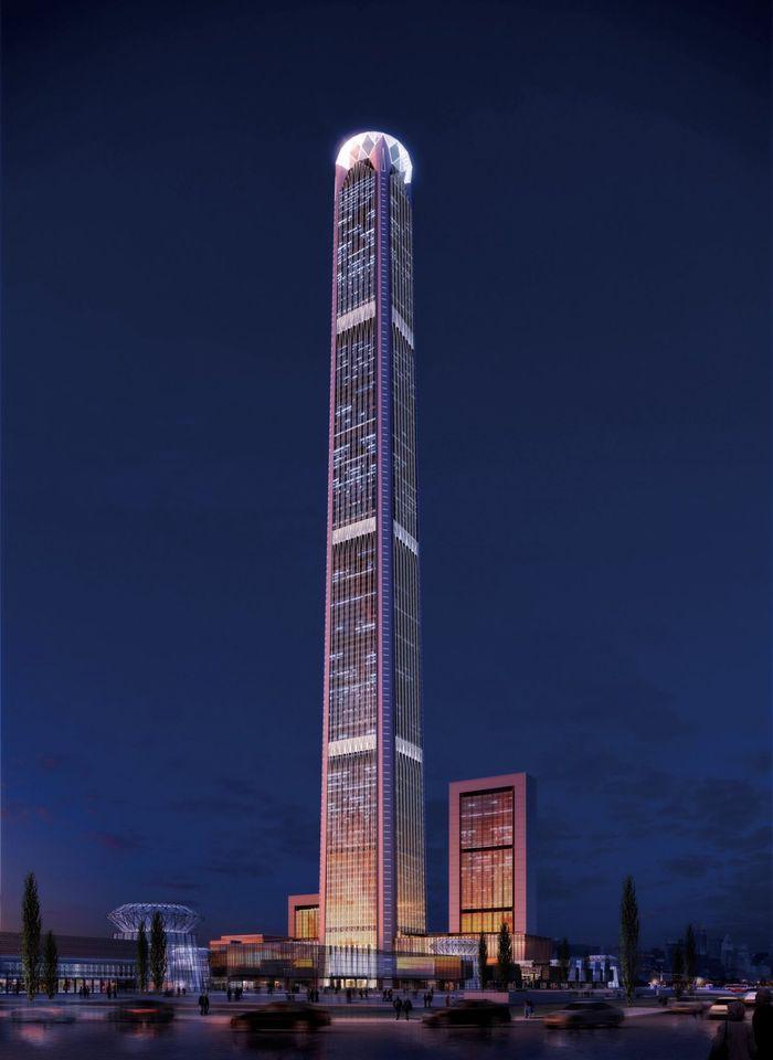 2. Goldin Finance 117 (высота 597 метров) Строительство этого небоскреба началось еще в 2008 году. 5
