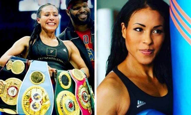 Сесилия Брекхус попрозвищу Первая леди защищала пояса чемпиона мира WBO/WBC/WBA вполусредне