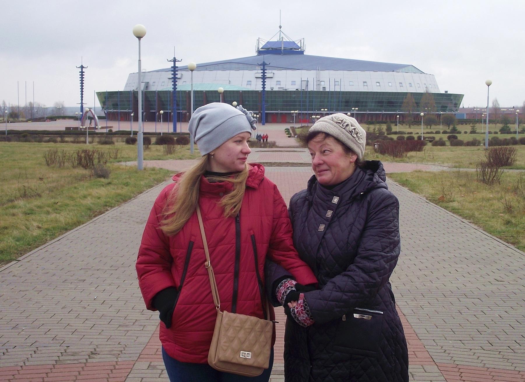 З мамою в Бобруйську