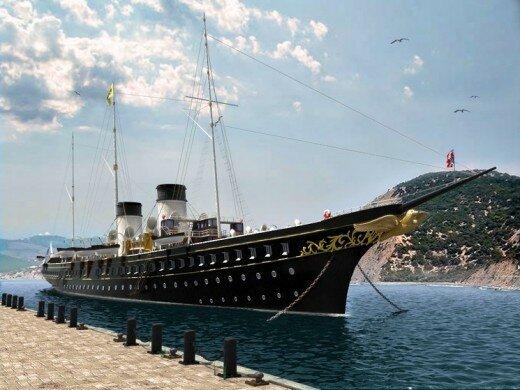 Russian yacht Standart