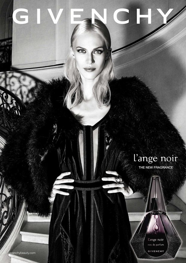 Aymeline Valade is the Face of Givenchy L'Ange Noir 2016 Campaign