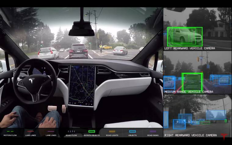What a self-driving car really sees (6 pics)