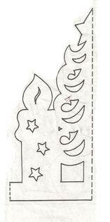 Бумажные новогодние гирлянды