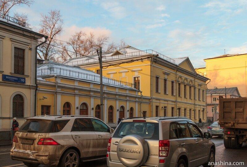 Усадьба Ренкевича, Волхонка, Москва
