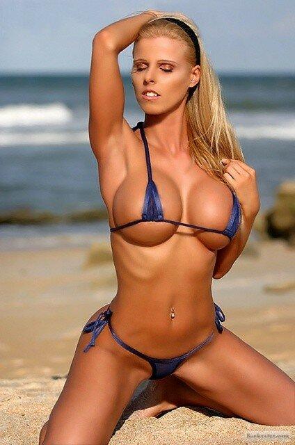 Teeny Bikinis Hot Blondes Bikini Models Plusone8 1