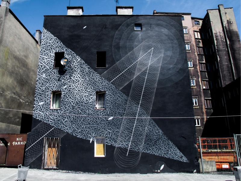 Amazing Abstract Street Art by Tellas