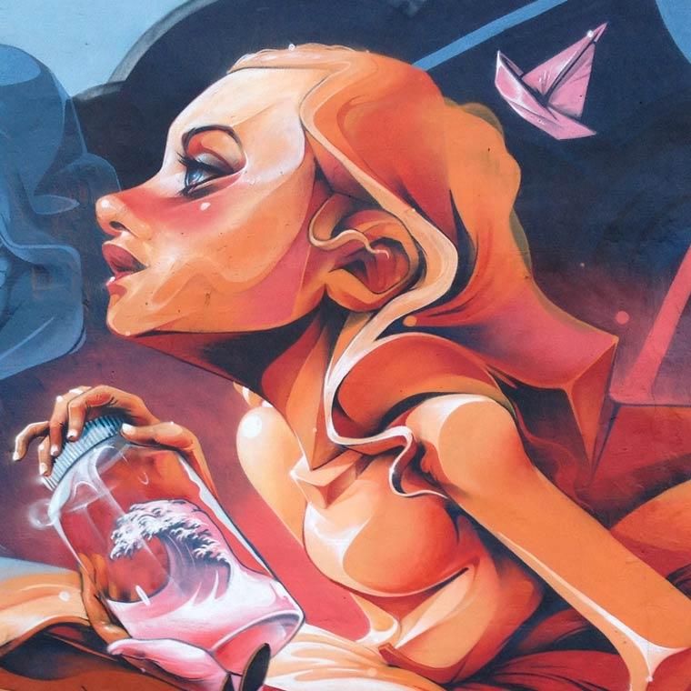 El secreto – Le street art par Isaac Mahow (24 pics)