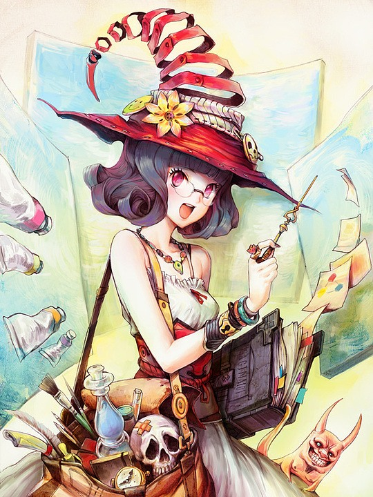 Manga / Anime Illustrations by Patipat Asavasena
