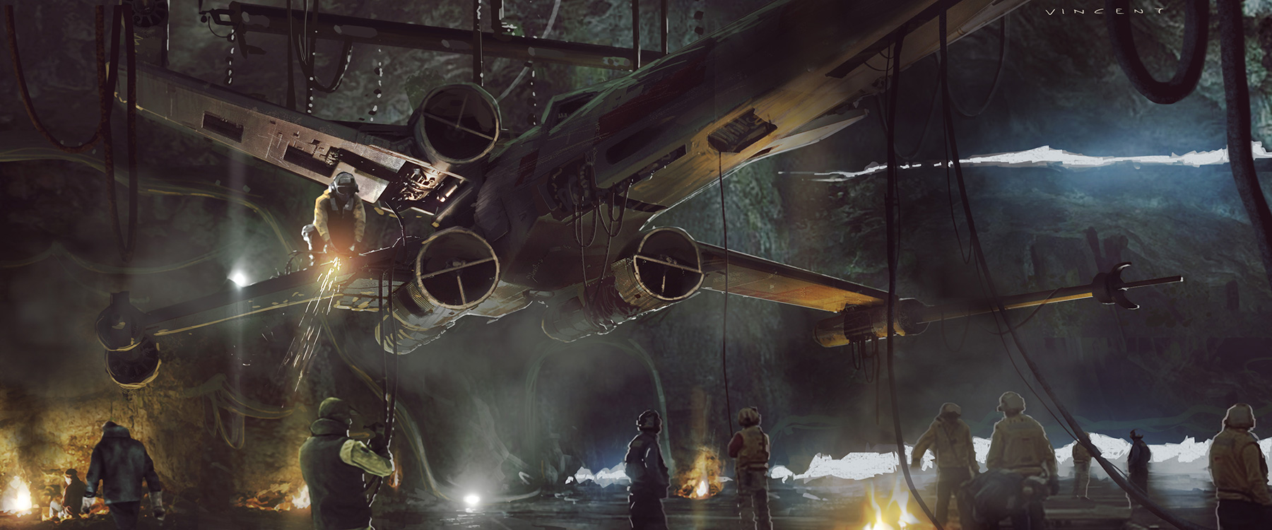 Rogue One: A Star Wars Story Concept Art by Vincent Jenkins