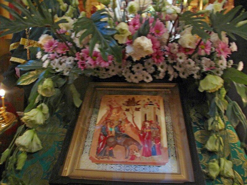 Вербное воскресение в Острове