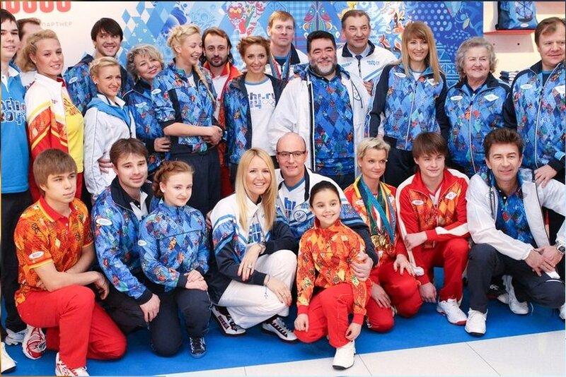 Российские спортсмены. Олимпиада - Сочи 2014.jpg