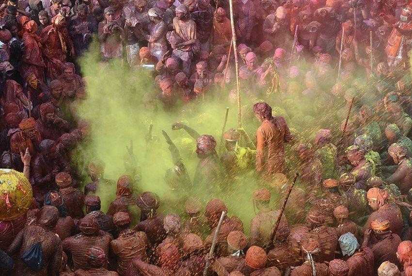 В Индии прошел очередной фестиваль Холи