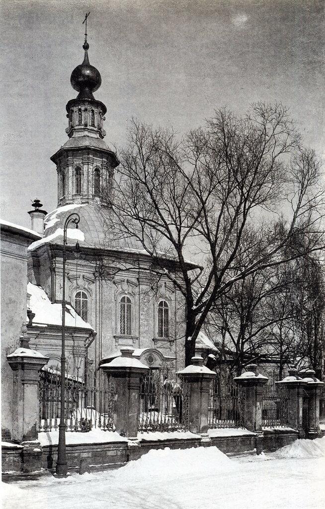 61769 Малая Алексеевская (Коммунистическая) улица. Храм св. Алексия 1922.jpg