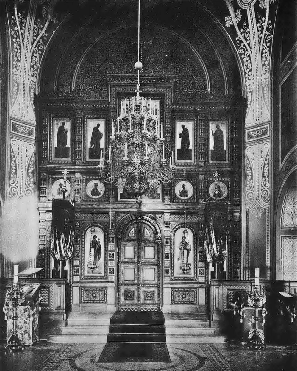 Церковь Всех Святых. Иконостас