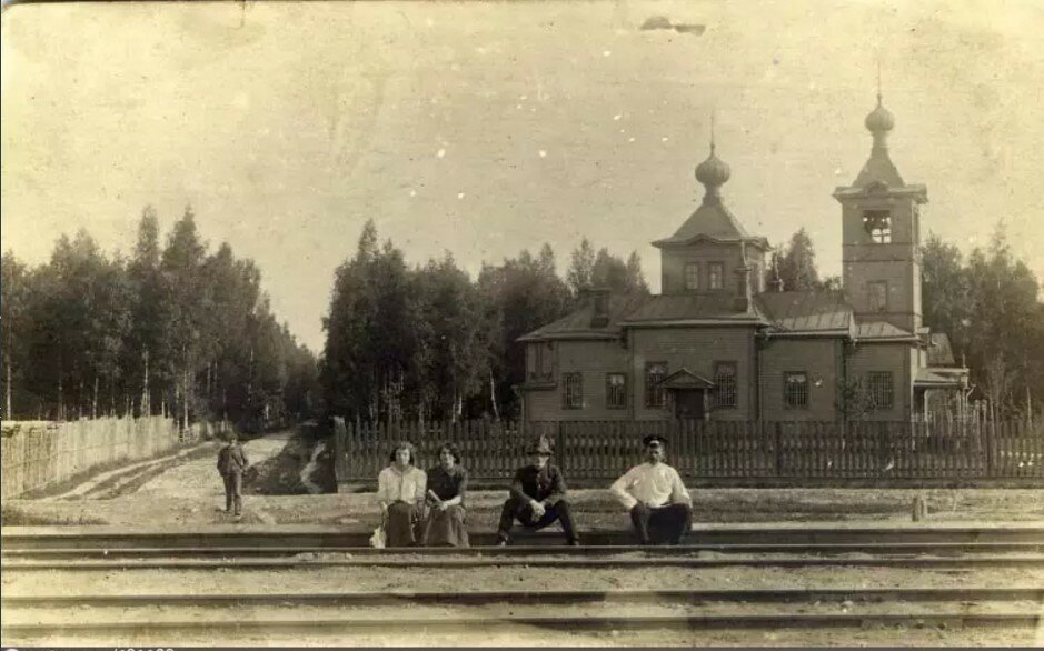 Кикерино. Церковь Николая Чудотворца