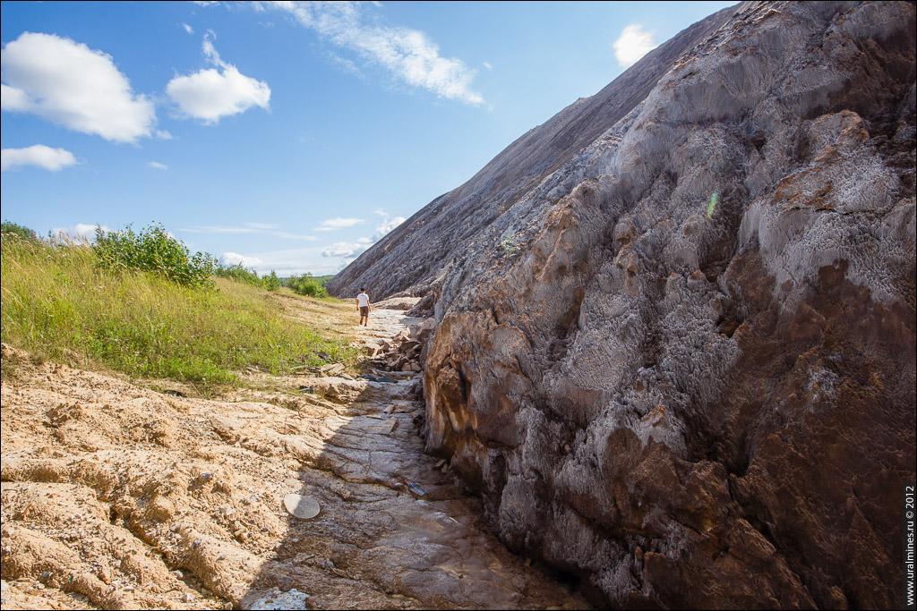 Солеотвал калийного рудника