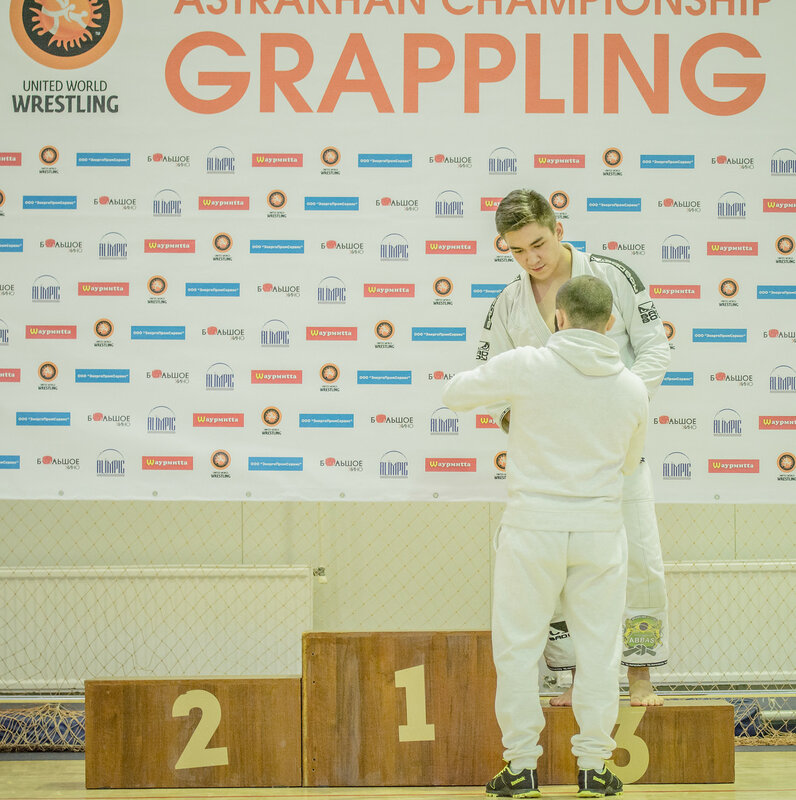 Чемпионат Астраханской области по спортивной борьбе (Грэпплинг ги) Награждение