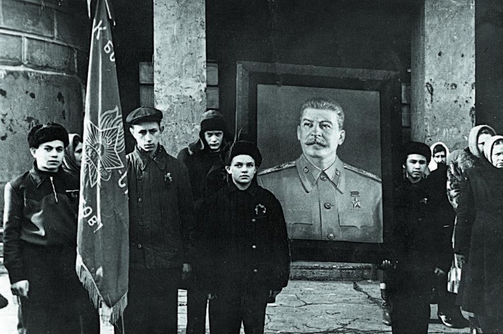Траур после смерти Сталина