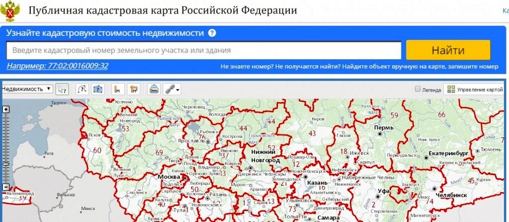 карта бесплатных земельных участков