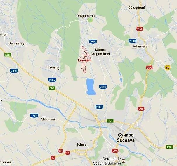 Липовень - Сучава (карта).JPG