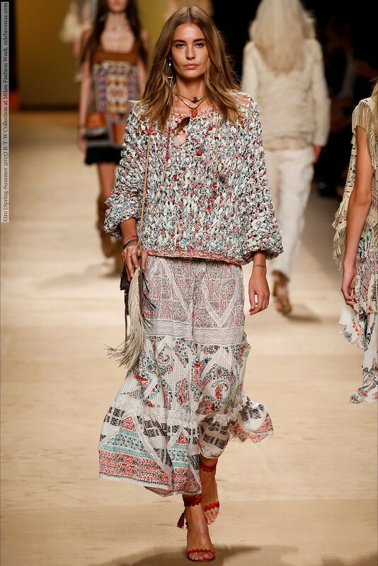 Etro (Spring-Summer 2015) R-T-W Collection at Milan Fashion Week