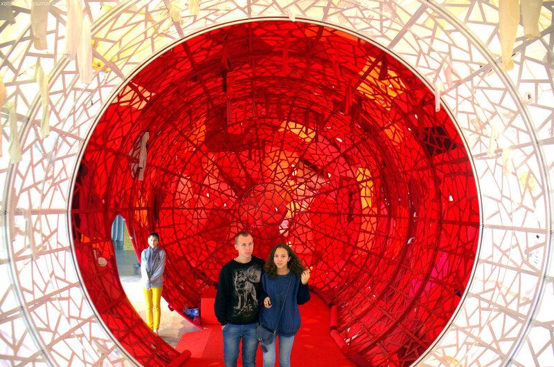Инсталляция Инь Сючжэнь «Медленное действие» (Центр современного искусства Гараж)