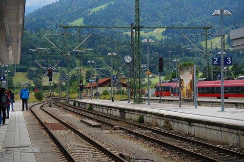 Гармиш-Партенкирхен. Вокзал