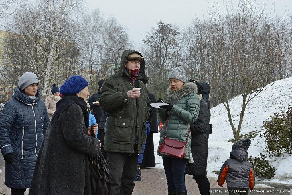 Масленица-2017 в церкви Архангела Михаила. Гомель
