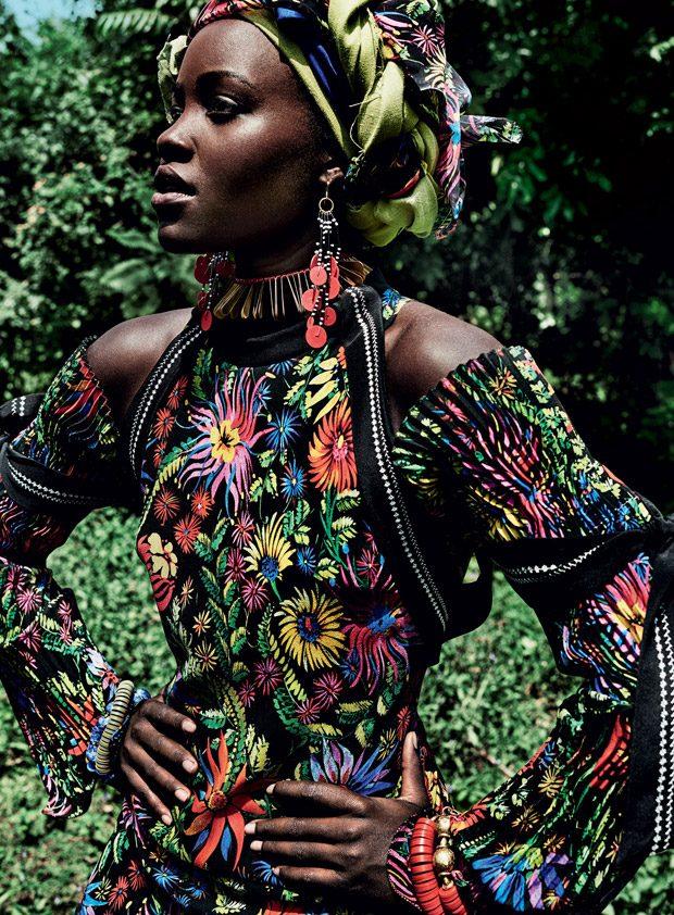 Лупита Нионго в Vogue US