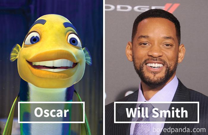 Оскар («Подводная братва») — Уилл Смит.