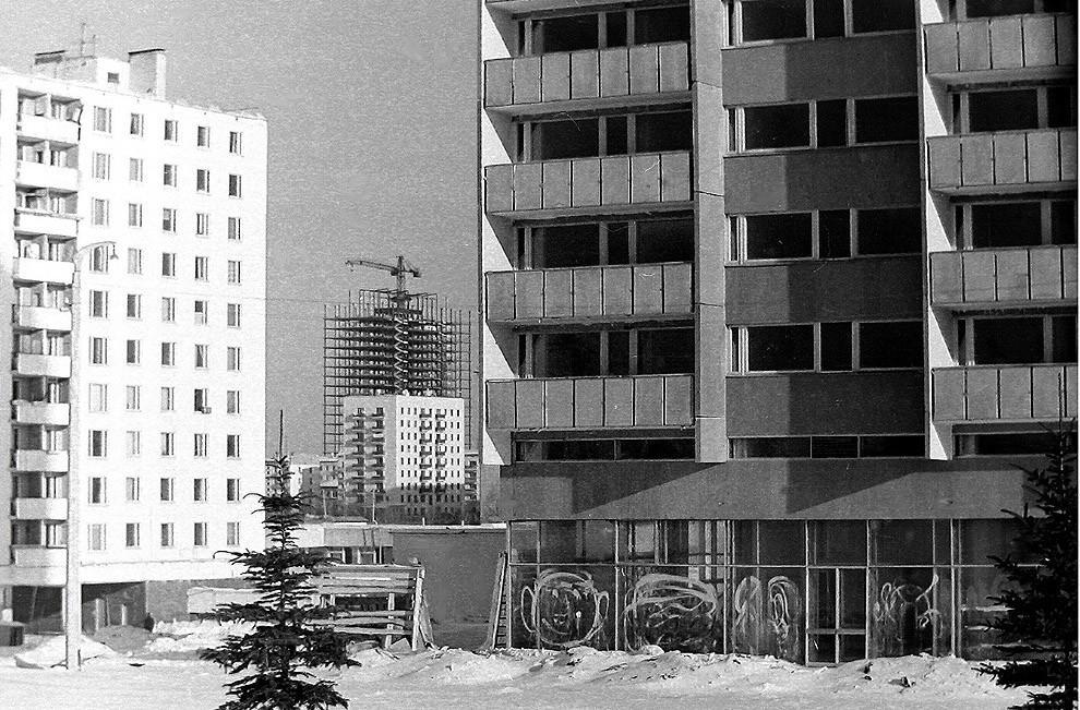 6. Москва, ул. Удальцова, примерно 1970 г.