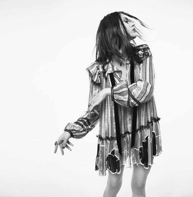 Фрэнсис Бин Кобэйн в рекламе Marc Jacobs