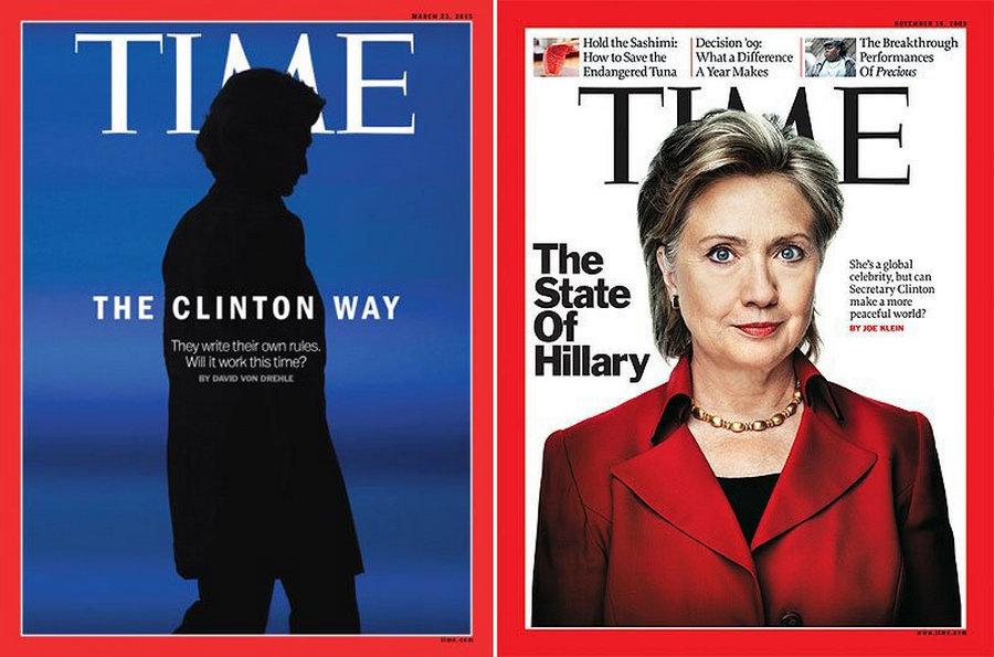 Как журнал Time «случайно» публикует на обложках важных лиц с рогами