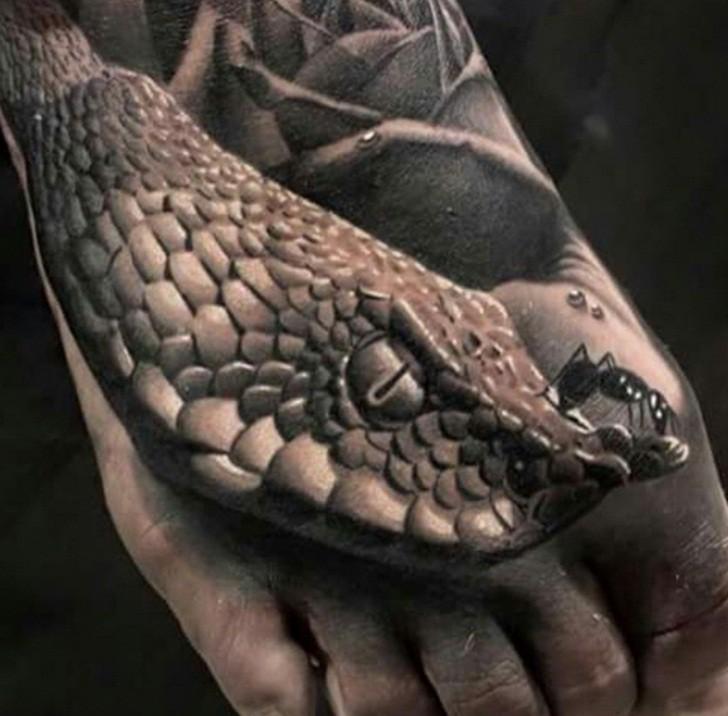 Коллекция Невероятных 3D-Татуировок.