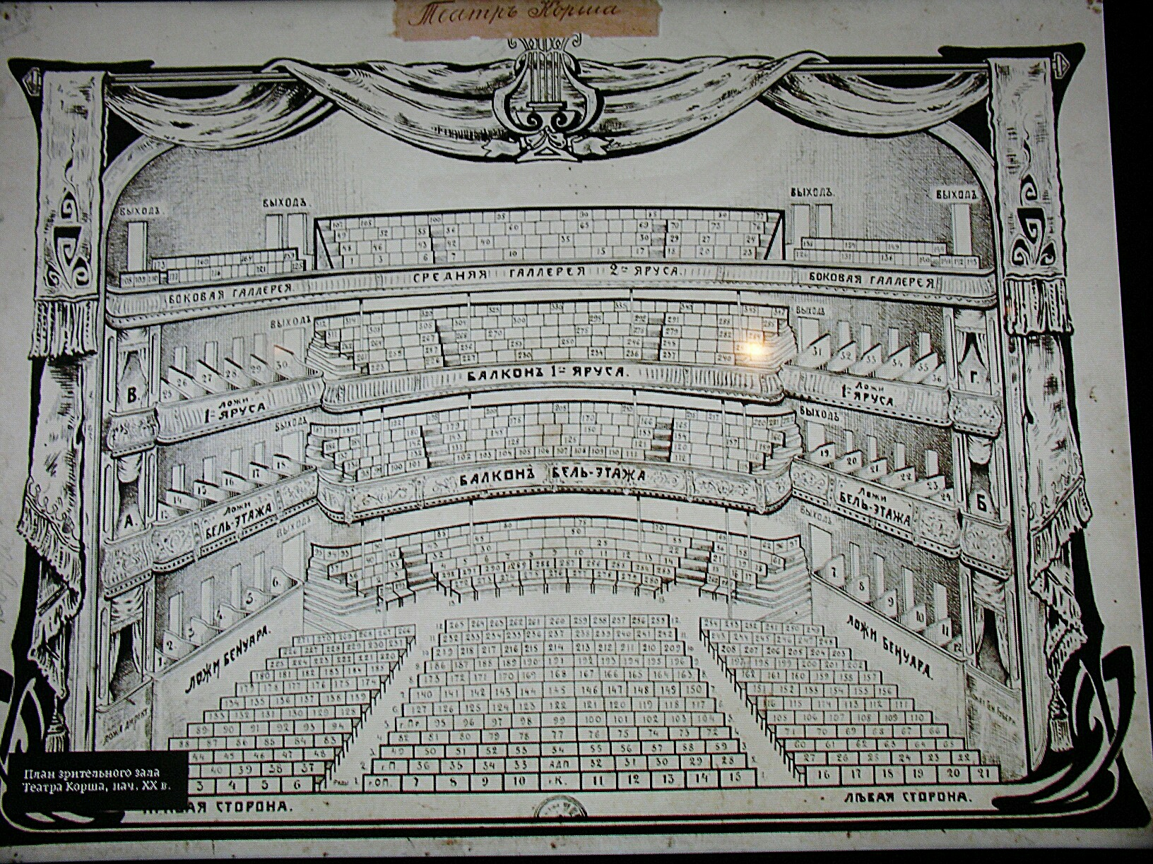 мир --- театр