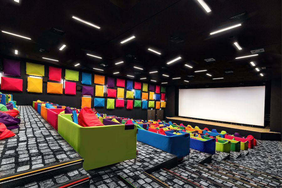 Colorful and Original Movie Theater in Slovakia