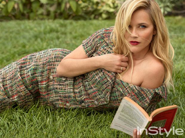 Reese Witherspoon Stars in InStyle US December 2016 Cover Story