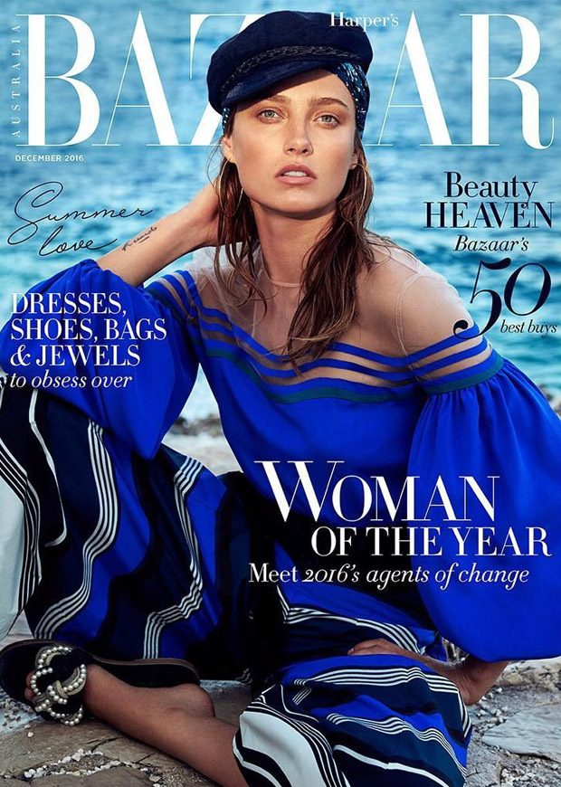 Sail Away with Me: Karmen Pedaru Stars in Bazaar Australia Cover Story