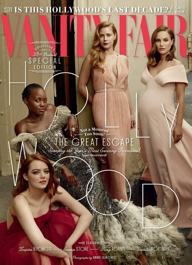 Emma Stone, Natalie Portman, Lupita Nyong'o + More for Vanity Fair Hollywood Issue (14 pics)
