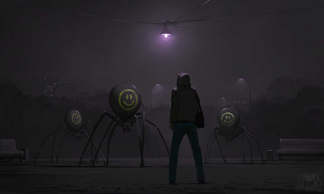Separate Reality - The latest surreal illustrations by Alex Andreyev