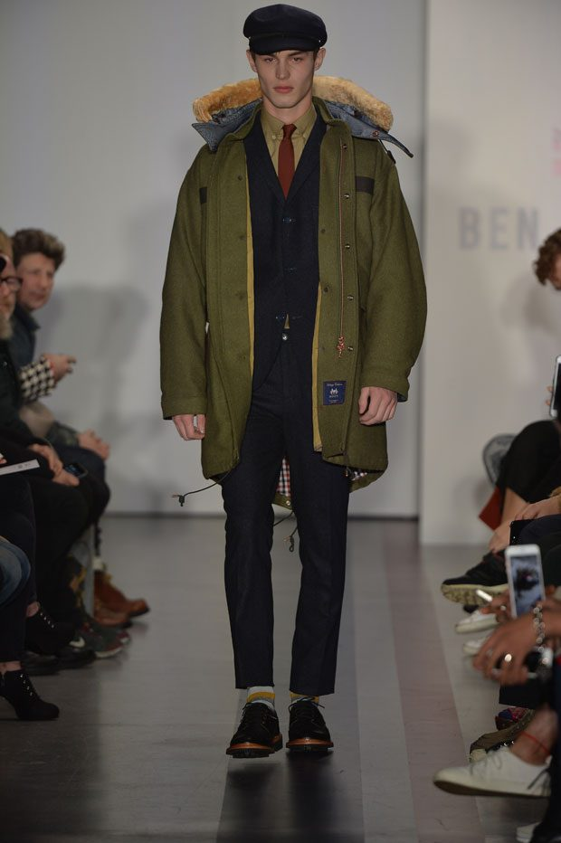#LCM Discover All The Looks from BEN SHERMAN AW17 Collection (31 pics)