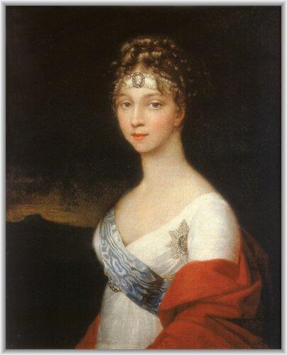 Императрица Елизавета Алексеевна. Неизвестный художник, после 1806-1808 гг.