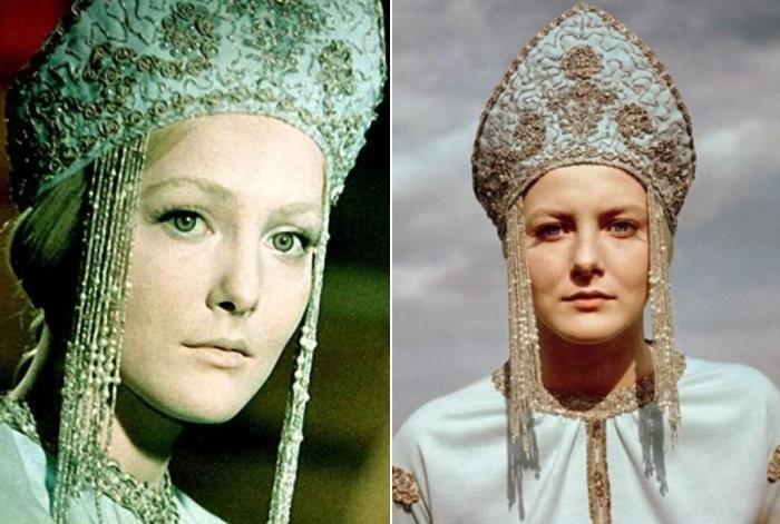 Евгения Филонова в роли Снегурочки, 1968.jpg