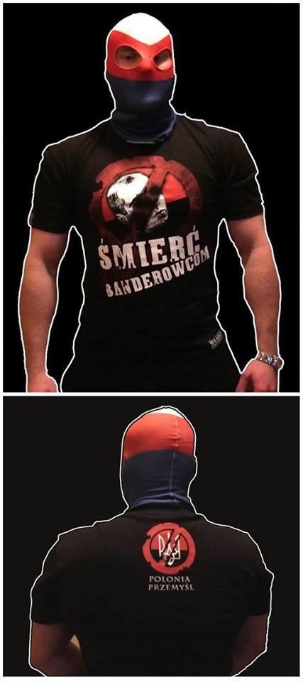 В Польше выпустили футболку Смерть бандеровцам. 11.2016.jpg